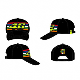 VR46 STRIPES  CAP